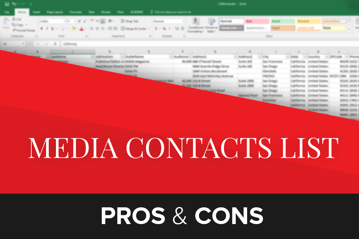 The Pros & Cons of Buying a Media List